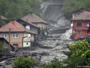 RESPONSE TO FLOODING IN THE BALKANS