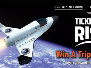 WIN A TRIP TO SPACE