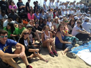 THANKS TO THE HUNTINGTON BEACH CLEAN UP VOLUNTEERS