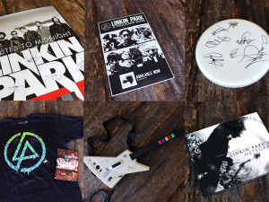 EXCLUSIVE LINKIN PARK SIGNED MERCHANDISE