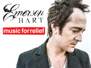 EMERSON HART TO SUPPORT MUSIC FOR RELIEF