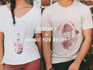 THIS WEEK MUSIC FOR RELIEF IS THE FEATURED CHARITY ON SEVENLY