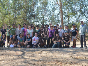 THANK YOU FOR VOLUNTEERING WITH MFR AND TREEPEOPLE