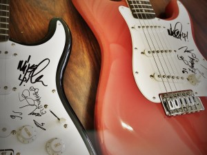 ROCK IN RIO USA GUITAR AUCTION