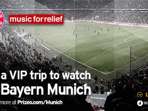WIN THE ULTIMATE VIP SOCCER EXPERIENCE WITH FC BAYERN MUNICH
