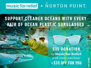 #WorldOceansDay – Music for Relief + Norton Point