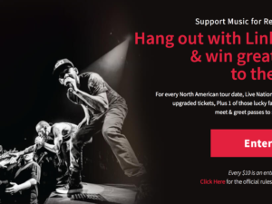 Support MFR + Hang Out with Linkin Park / Get Tickets to the One More Light Tour